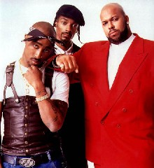 Suge and Snoop and Tupac